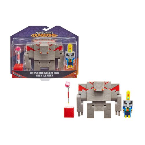 MINECRAFT DUNGEONS ILLIAGER & GOLEM 2 -PACK GND38