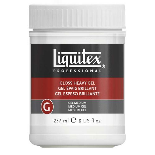 LIQUITEX GLOSS HEAVY GEL MAALAUSAINE 237ML