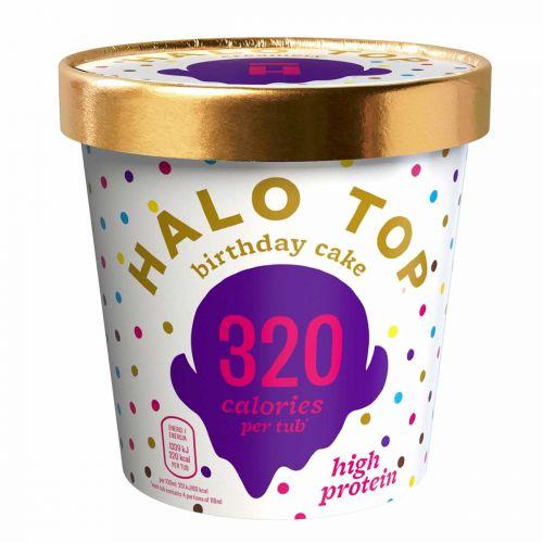 HALO TOP JÄÄTELÖ BIRTHDAY CAKE 473 ML