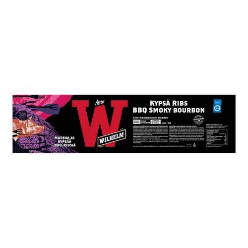 ATRIA WILHELM PORK RIBS BBQ SMOKY BOURBON N. 1KG