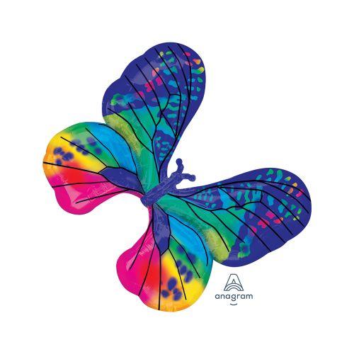 Muotofoliopallo Värikäs perhonen
