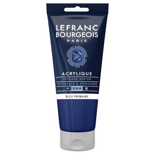 L&B FINE ACRYLIC 80ML 063 CYAN (PRIMARY BLUE)