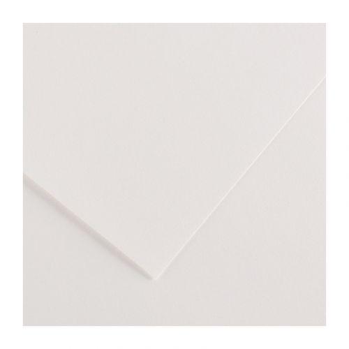 CANSON IRIS VIVALDI 240G 50X65 01 WHITE VÄRIKARTONKI