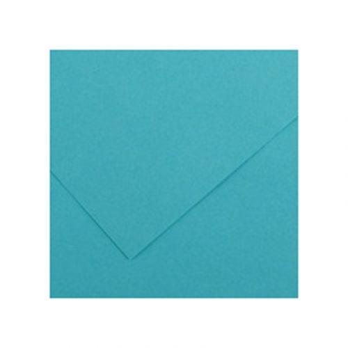 CANSON IRIS VIVALDI 240G 50X65 25 TURQUOISE BLUE VÄRIKARTONKI