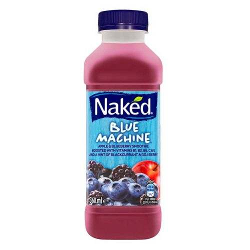 NAKED SMOOTHIE BLUE MACHINE  360 ML