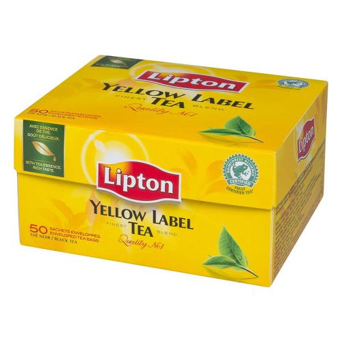 Lipton Yellow Label 50 teepussia, 100g