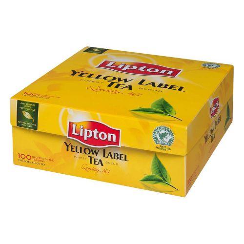 LIPTON YELLOW LABEL 100PS 200 G