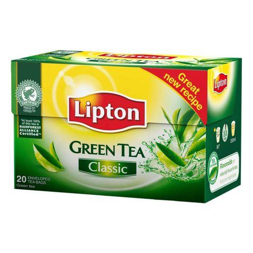 LIPTON GREEN CLASSIC VIHREÄ TEE 20PS