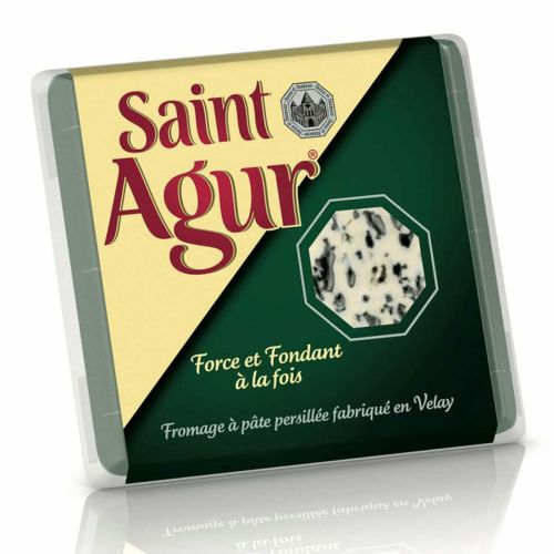 SAINT AGUR PORTION SINIHOMEJUUSTO 125 G