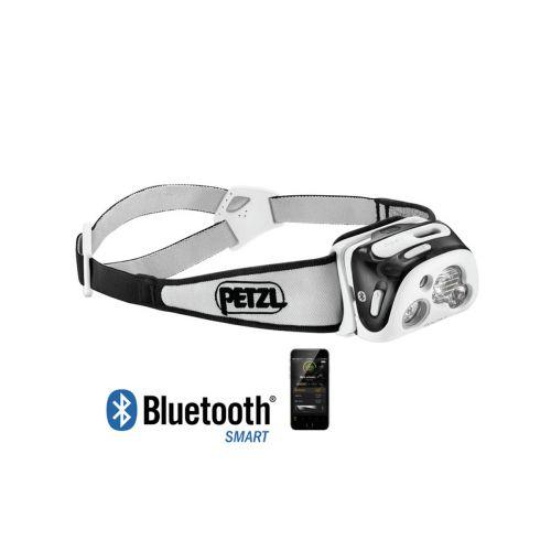 PETZL REACTIK+ REAKTIIVINEN LED MUSTA. 300LM BLUETOOTH JA USB L