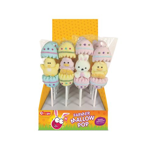 FIZZY EASTER MALLOW POP 35 G