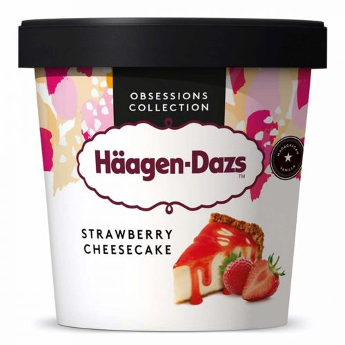 HÄAGEN-DAZS STRAWBERRY-CHEESECAKE 460 ML
