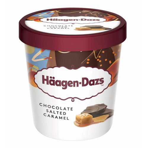 HÄAGEN-DAZS CHOCOLATE SALTED CARAMEL 460 ML