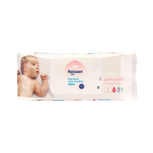 Natusan Baby Puhdistuspyyhe hajusteeton 56kpl