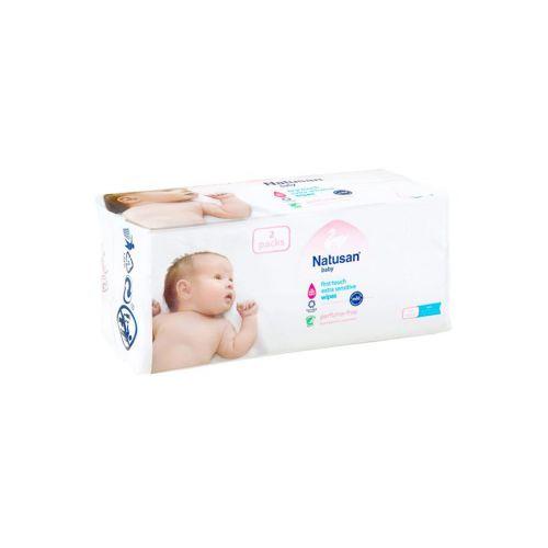 Natusan Baby Puhdistuspyyhe hajusteeton 112kpl