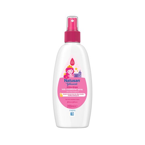 NATUSAN BY JOHNSONS SHINY DROPS CONDITIONER SPRAY 200 ML