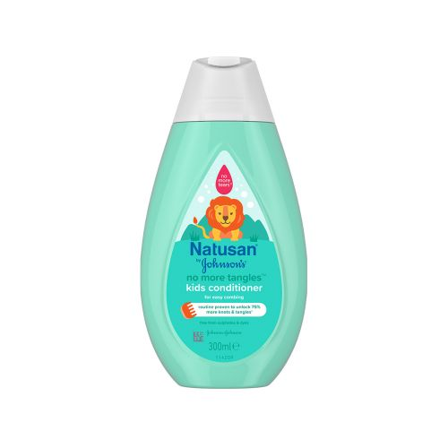 NATUSAN BY JOHNSONS NO MORE TANGLES CONDITIONER HOITOAINE 300 M