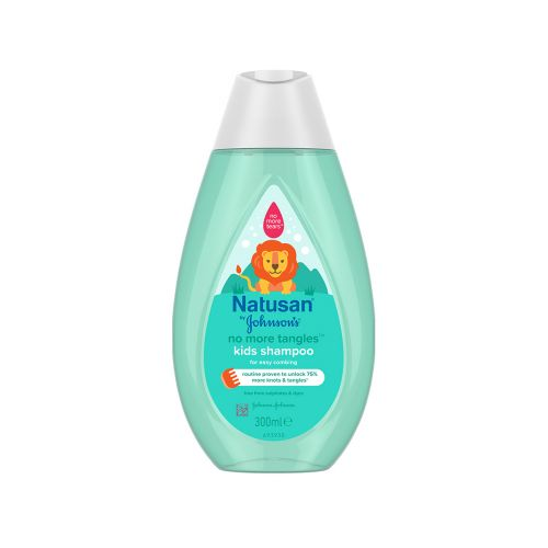 NATUSAN BY JOHNSONS NO MORE TANGLES SHAMPOO 300 ML