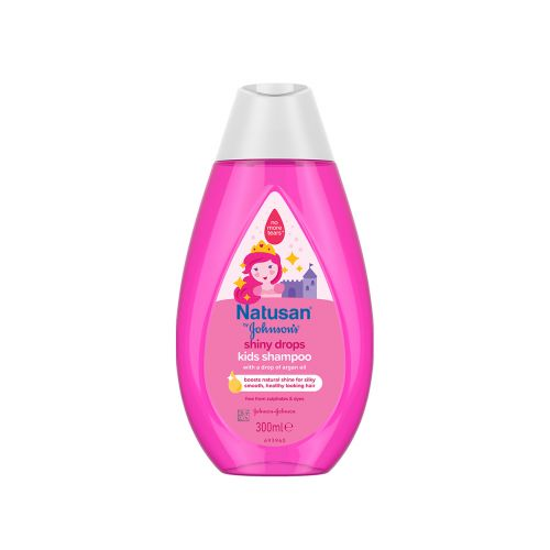 NATUSAN BY JOHNSONS SHINY DROPS SHAMPOO 300 ML