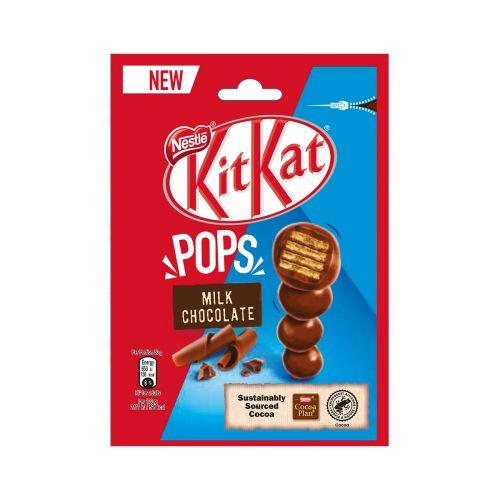 KIT KAT POP CHOC MILK CHOCOLATE SUKLAAPUSSI 140 G