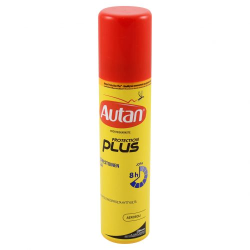 Autan Protection Plus hyttyskarkote aerosoli 100ml