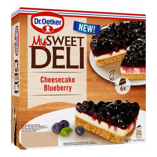DR. OETKER MY SWEET DELI  CHEESECAKE BLUEBERRY 525 G