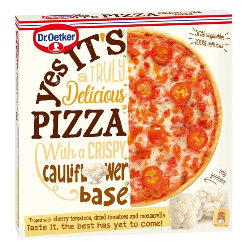 DR. OETKER YES IT'S PIZZA CAULIFLOWER 345 G