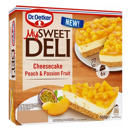 DR. OETKER CHEESECAKE PASSIO  555 G