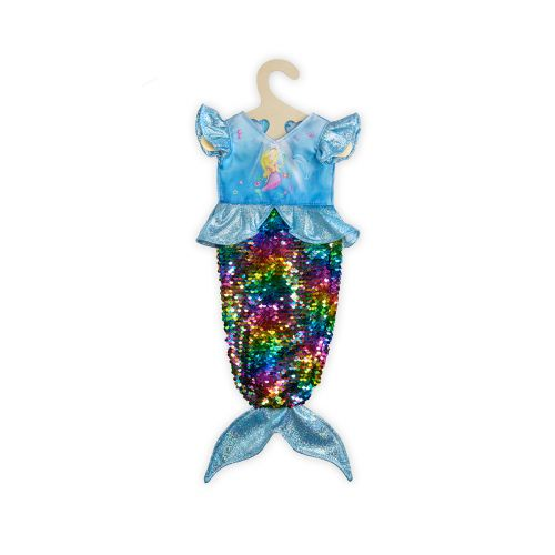 Heless nuken kääntöpaljettipuku merenneito  35 - 45 cm