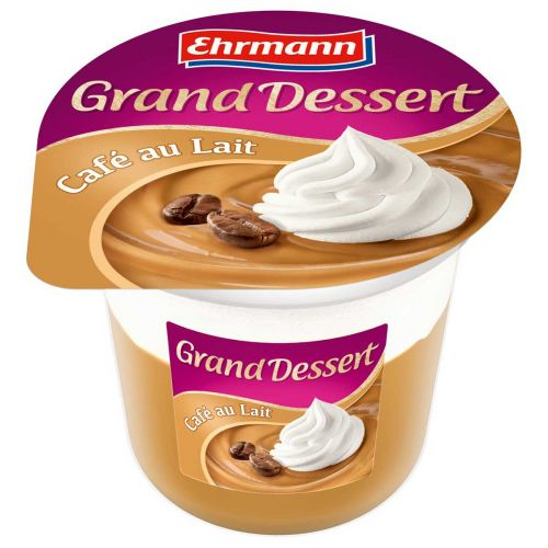 EHRMANN GRAND DESSERT VANUKAS CAFE AU LAIT 190 G
