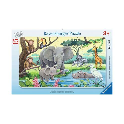 RAVENSBURGER ANIMALS OF AFRICA 15P