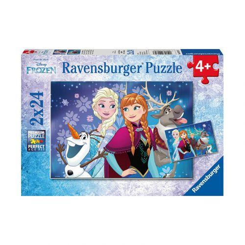 Ravensburger Frozen Northern Lights 2x24 palaa