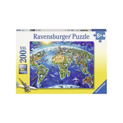 RAVENSBURGER WORLD LANDMARKS MAP 200P