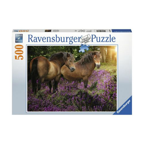 Ravensburger Ponies in the Flowers 500 palaa
