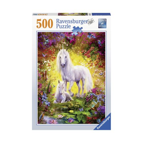 Ravensburger Unicorn and Foal 500 palaa