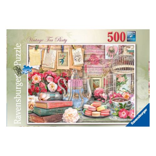 Ravensburger Vintage Tea Party 500 palaa