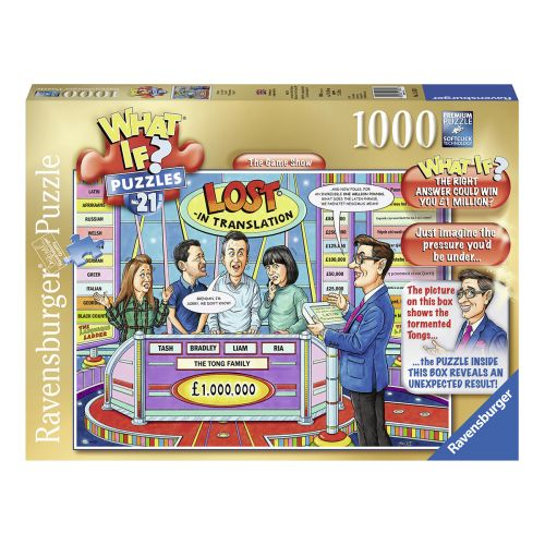 Ravensburger What If No21 The Game Show 1000 palaa