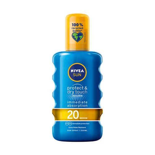 NIVEA AURINKOSUOJASPRAY SUN PROTECT&DRY TOUCH INVISIBLE SK20 20