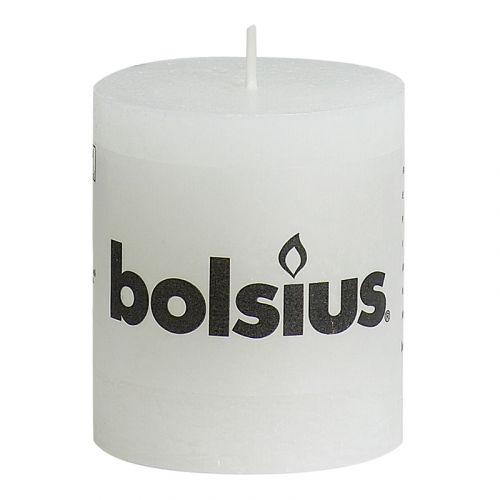 BOLSIUS RUSTIIKKIKYNTTILÄ 80/68 VALKOINEN