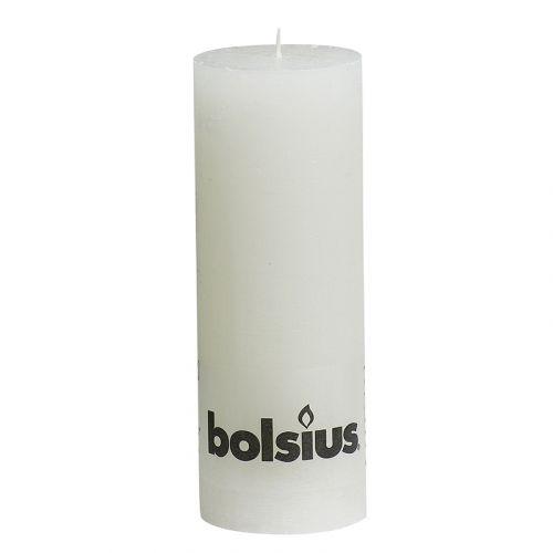 BOLSIUS RUSTIIKKIKYNTTILÄ 190/68 VALKOINEN