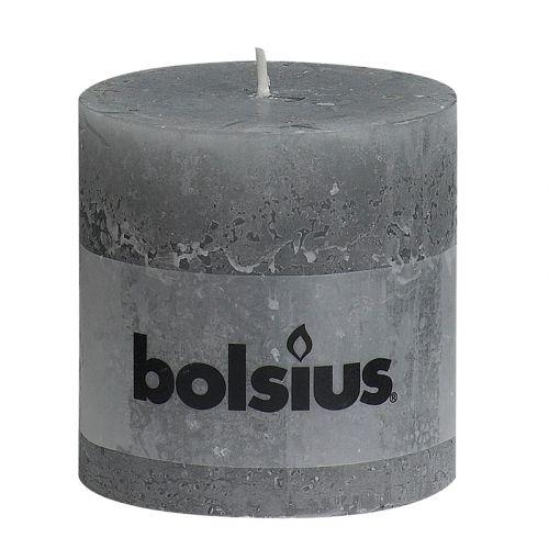 BOLSIUS RUSTIIKKIKYNTTILÄ 100/100 VAALEAN HARMAA