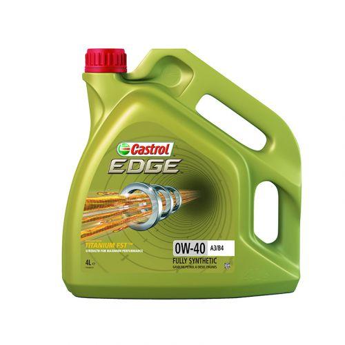 Castrol Edge Titanium moottoriöljy FST 0W-40 A3/B4 4l