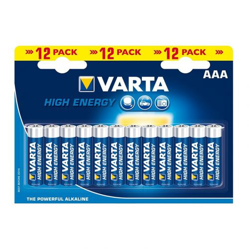 VARTA PARISTO LONGLIFE POWER AAA 12 KPL
