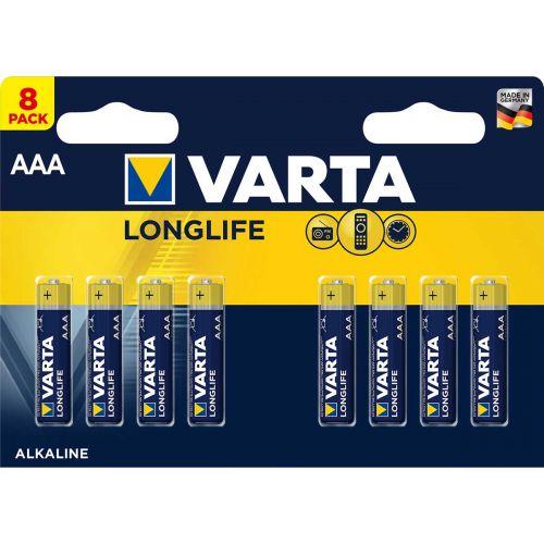 VARTA PARISTO LONGLIFE AAA 8-PACK