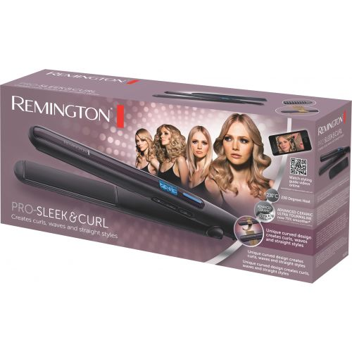 REMINGTON S6505 PRO SLEEK& CURL HIUSTENMUOTOILIJA