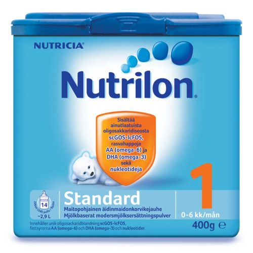 NUTRILON STANDARD 1 ÄIDINMAIDONKORVIKEJAUHE 0-6 KK 400