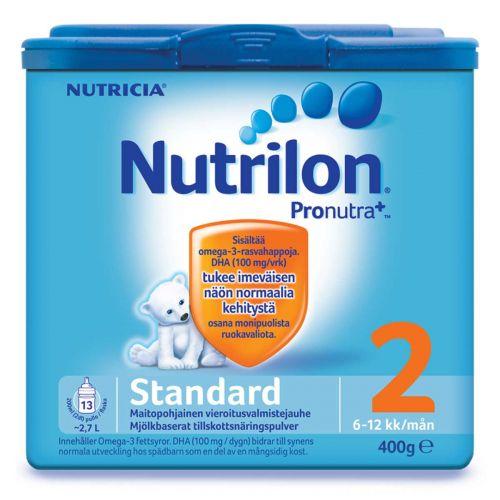NUTRILON STANDARD 2 VIEROITUSVALMISTEJAUHE 6-12 KK 400