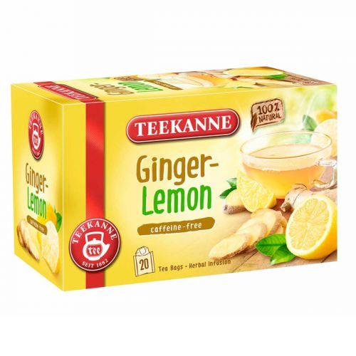 TEEKANNE GINGER -LEMON TEE 20PS   35G