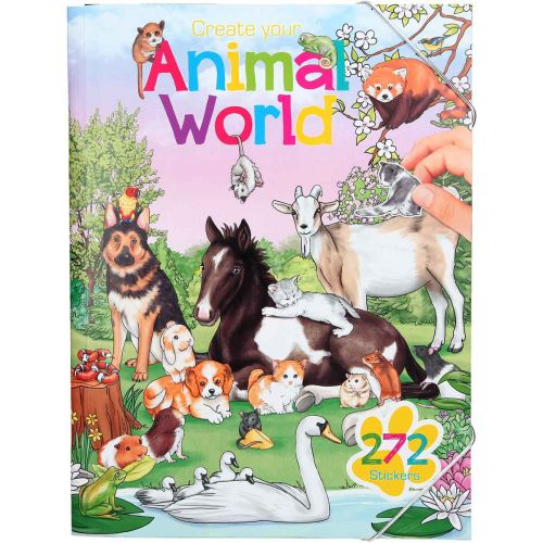 CREATE YOUR ANIMAL WORLD TARRAKIRJA