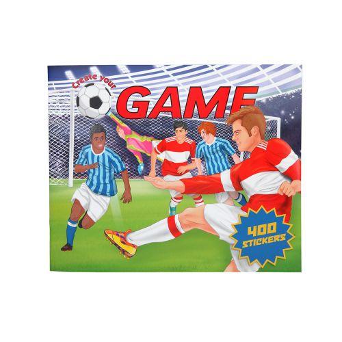 CREATE YOUR FOOTBALL GAME TARRAKIRJA